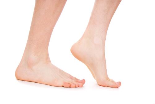 Heel stretches